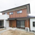 完成のお家の撮影