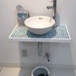玄関に手洗いを設置される方が増えています!